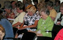 Participants learn ways to improve their personal prayer lives and local church prayer ministries at the