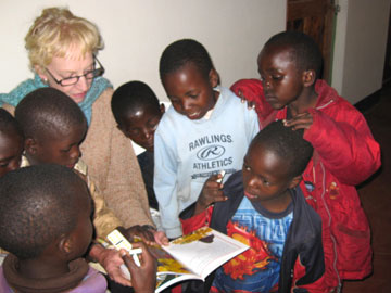 Kay Oursler followed a calling to leave her home in Arkansas to build an orphanage in Tanzania. UMNS web-only photos courtesy of Kay Oursler.