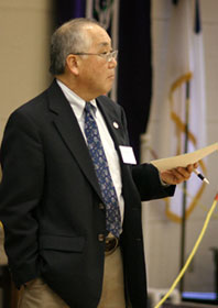 Donald Hayashi. A UMNS 2007 file photo by Kathy Gilbert.