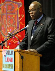 Bishop Warner Brown is elected president-designate of the Council of Bishops.