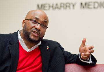 Ross Fleming III is program coordinator for Project SAVED! (Strengthening Access via Empowerment and Diligence) at the Center for AIDS Health Disparities Research at Meharry Medical College in Nashville, Tenn.