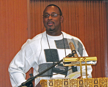 The Rev. Tyrone Gordon. A UMNS 2008 file photo by Linda Green.