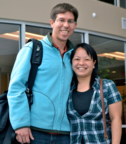 Jonathan McCurley, a United Methodist missionary from Florida, and his wife, Satomi, are assigned to the Asian Rural Institute in northern Japan. Photo courtesy of The Florida Conference of The United Methodist Church.
