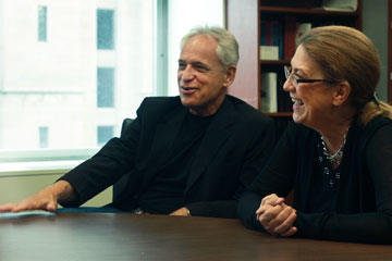 The Jacobsens' research finds that religious life is thriving on campus.