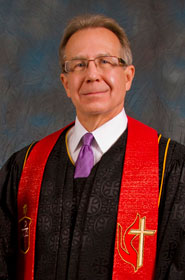 United Methodist Bishop Gary Mueller. Photo by Patrick W. Shownes.