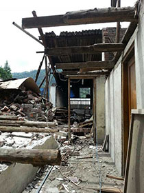 Nearly 200 people were killed in the April 20 earthquake in China's Sichuan Province.