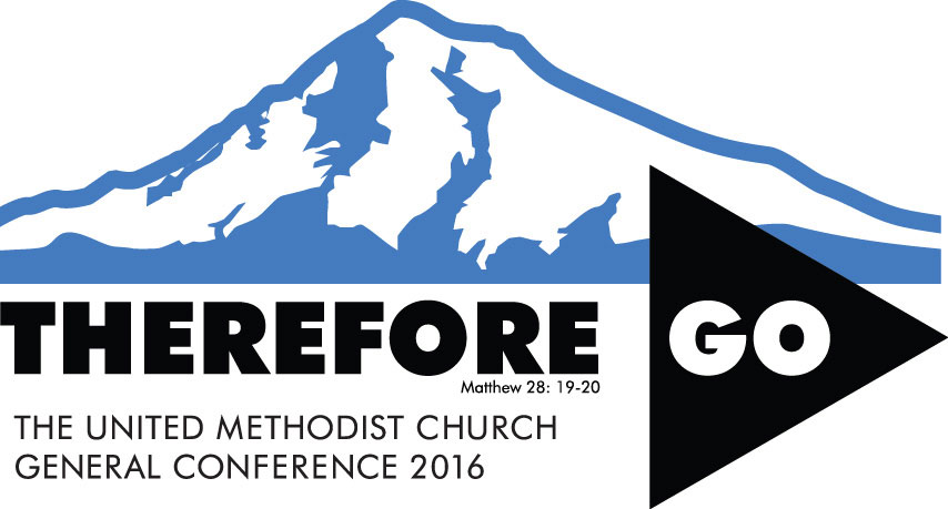 General Conference 2016 logo - Therefore Go