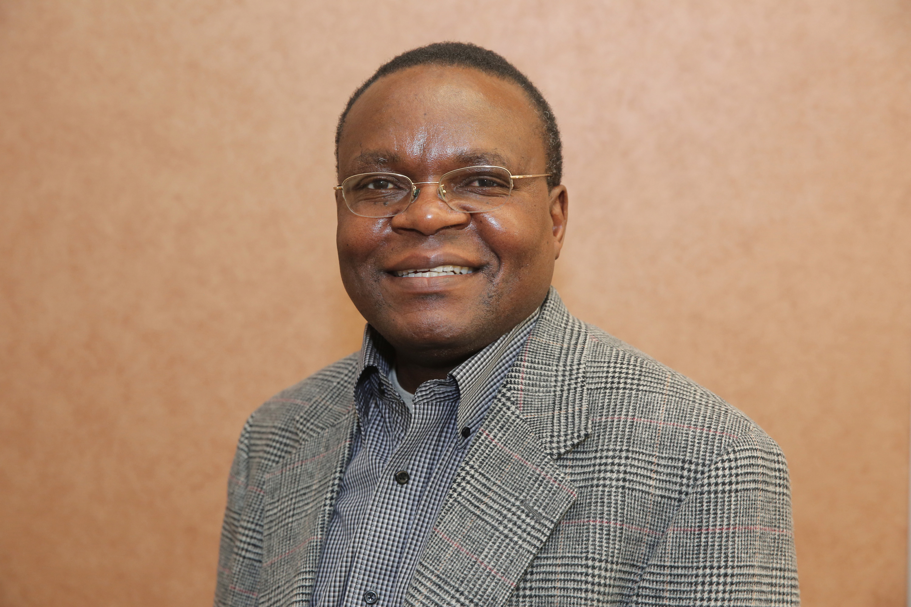 The Rev. Kiboko I. Kiboko, Vano Kiboko's brother and a district superintendent in the Iowa Conference. Photo by the Rev. Art McClanahan, Iowa Conference