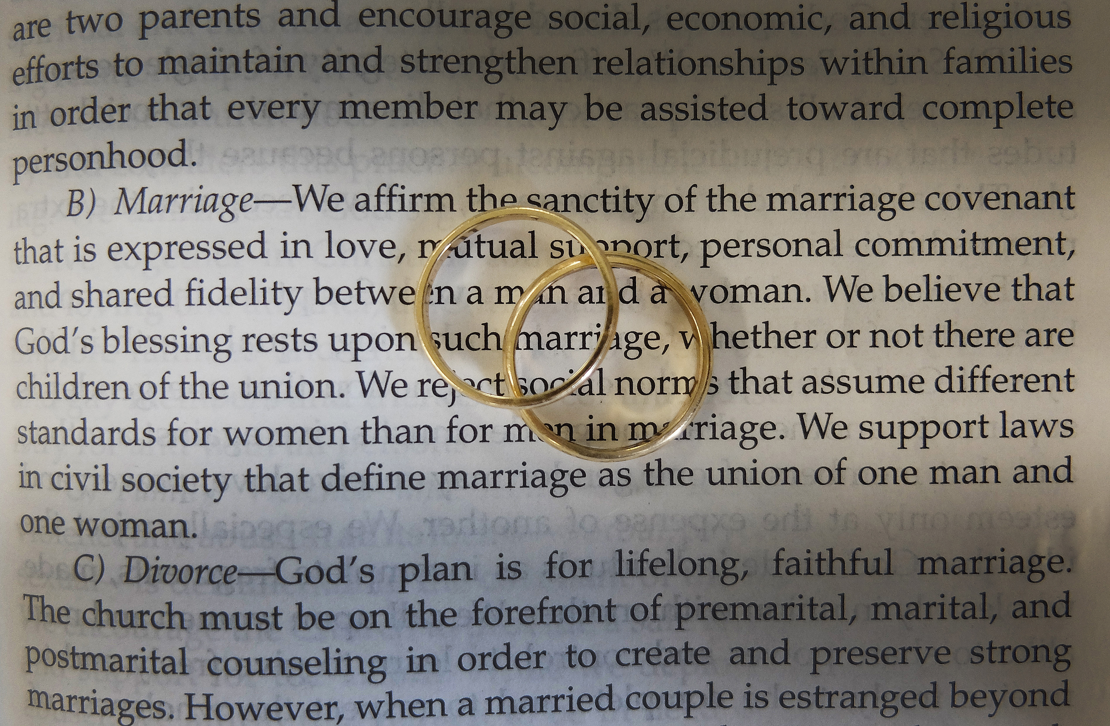 from Cody church discipline heresy gays