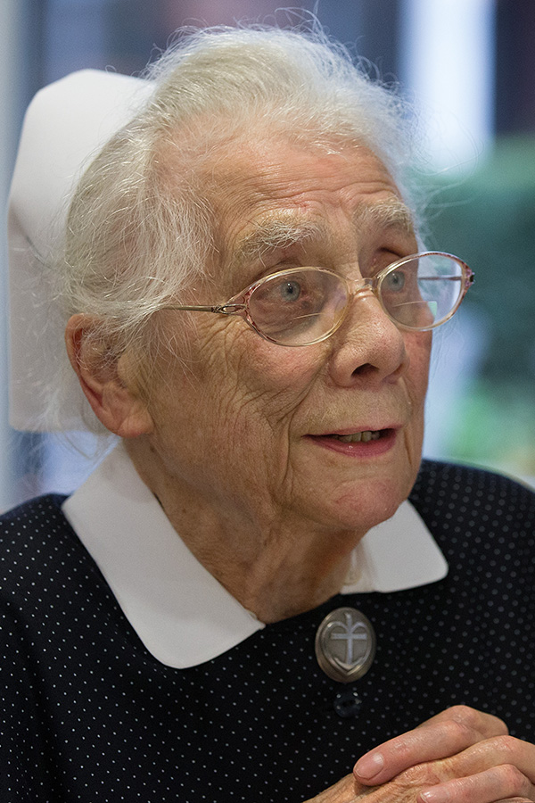 Sister Gerda Liermann. Photo by Mike DuBose, UMNS.