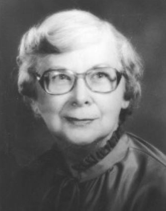 Marjorie Matthews (1916-1986) was the first woman elected bishop in 1980. Photo courtesy of Archives and History.