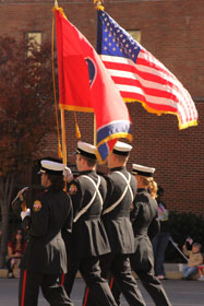 Parades are one way to honor those who sacrifice daily for our freedom. A web-only photo by Dee Dee Cobb.