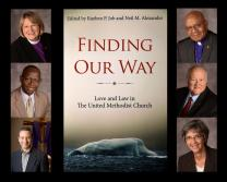 "United Methodist leaders, including seven bishops, will join in a panel discussion on human sexuality on Saturday, Nov. 1. They are all contributors to the book ""Finding Our Way."" Pictured clockwise from left are Bishop Rosemarie Wenner, Bishop Melvin G. Talbert, Bishop J. Michael Lowry,  Bishop Hope Morgan Ward, Neil M. Alexander and Bishop John K. Yambasu. Photos courtesy of the Council of Bishops"