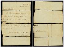 1779 John Wesley letter