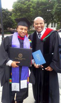 Kevin Kosh graduation