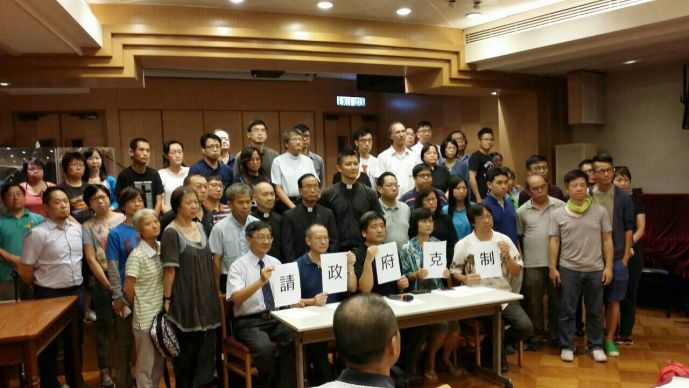 Photo courtesy of the Rev. G. Howard Mellor.  Methodists in Hong Kong have called for calm and restraint following continuing clashes between the government and protesters and joined in a statement from the Hong Kong Christian Council urging both parties to engage in dialogue.