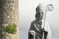 Statue of St. Patrick. Photo courtesy of Andreas F. Borchert, Wikimedia.