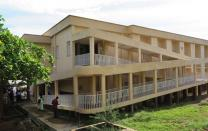The $750,000 maternity building, funded through the American Schools and Hospitals Abroad and the United Methodist Committee on Relief, has doubled the previous maternal bed space from 24 to 50 at Kissy United Methodist General Hospital (above) in eastern Freetown, Sierra Leone.