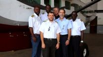 The pilots of United Methodist Aviation Ministries UMAM based in the Democratic Republic of Congo.