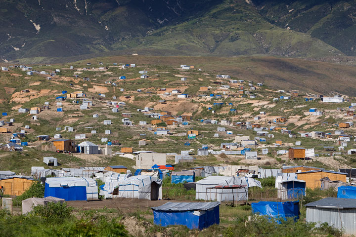 Camp Corail is home to about 10,000 people displaced by the January 2010 earthquake.