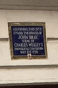 Charles Wesley had his own encounter with the Holy Spirit 3 days before his brother.