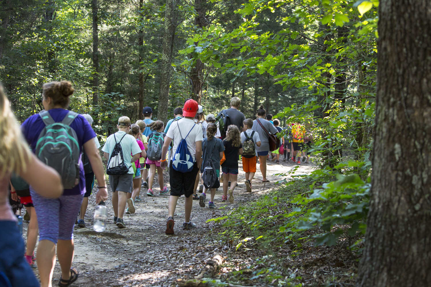 Hiking at camp can lead to an encounter with Jesus.