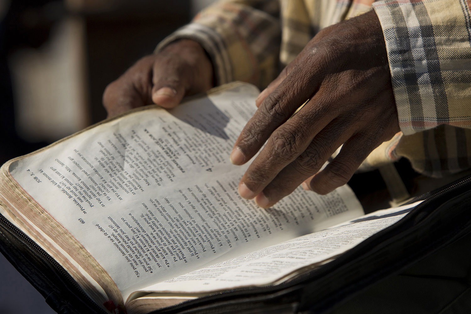 We learn God's voice through studying the scriptures.