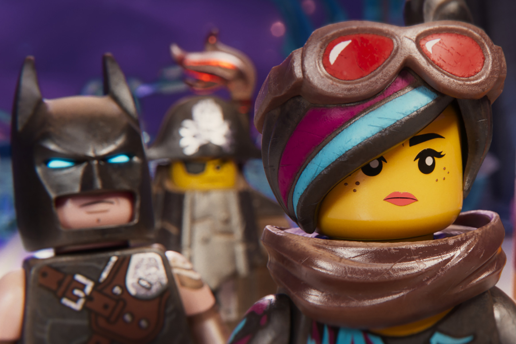 Wyldstyle is a leader of hope in The Lego Movie 2.