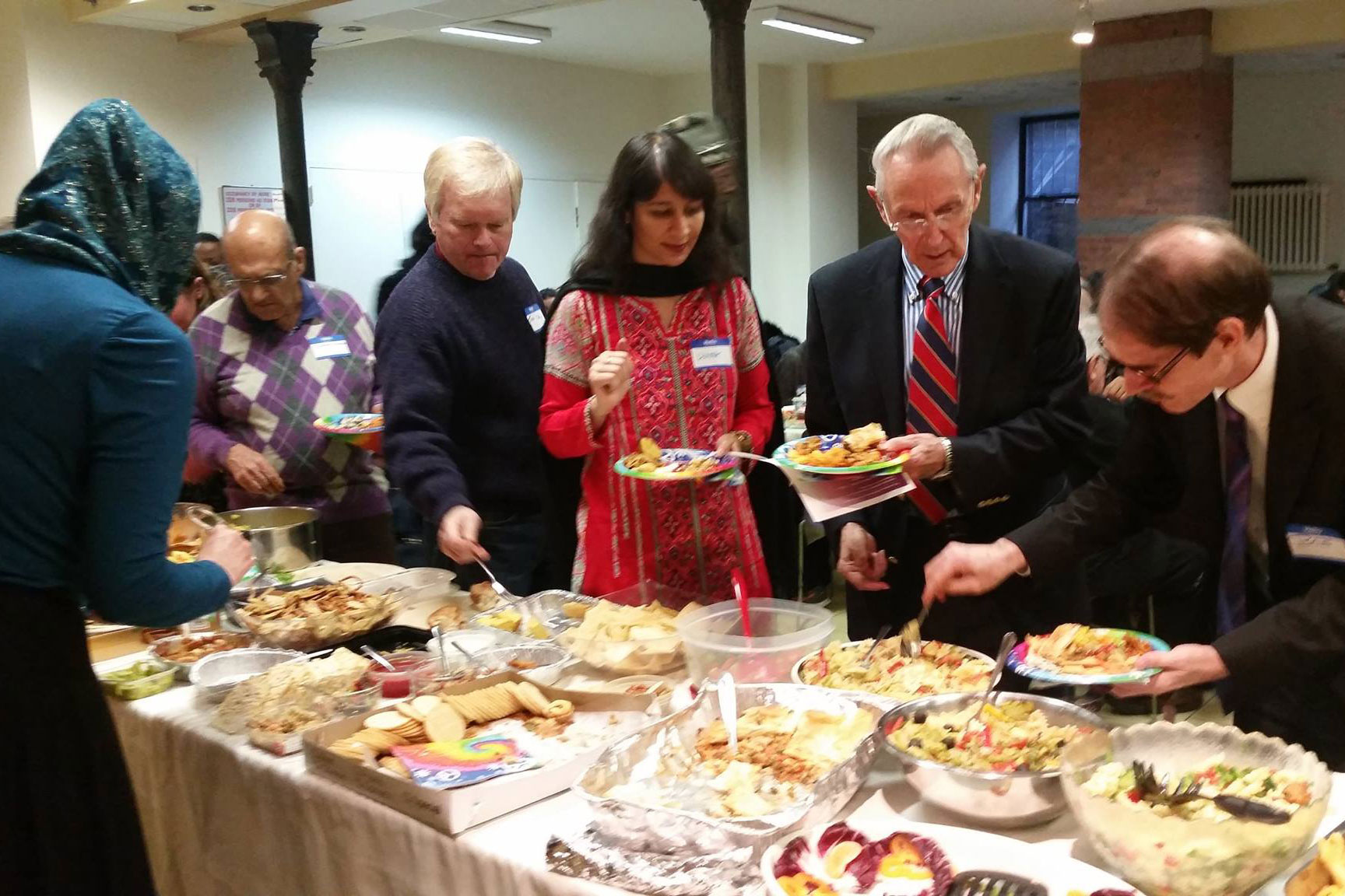 Peace Feast at the Church of St. Paul and St. Andrew in New York, NY