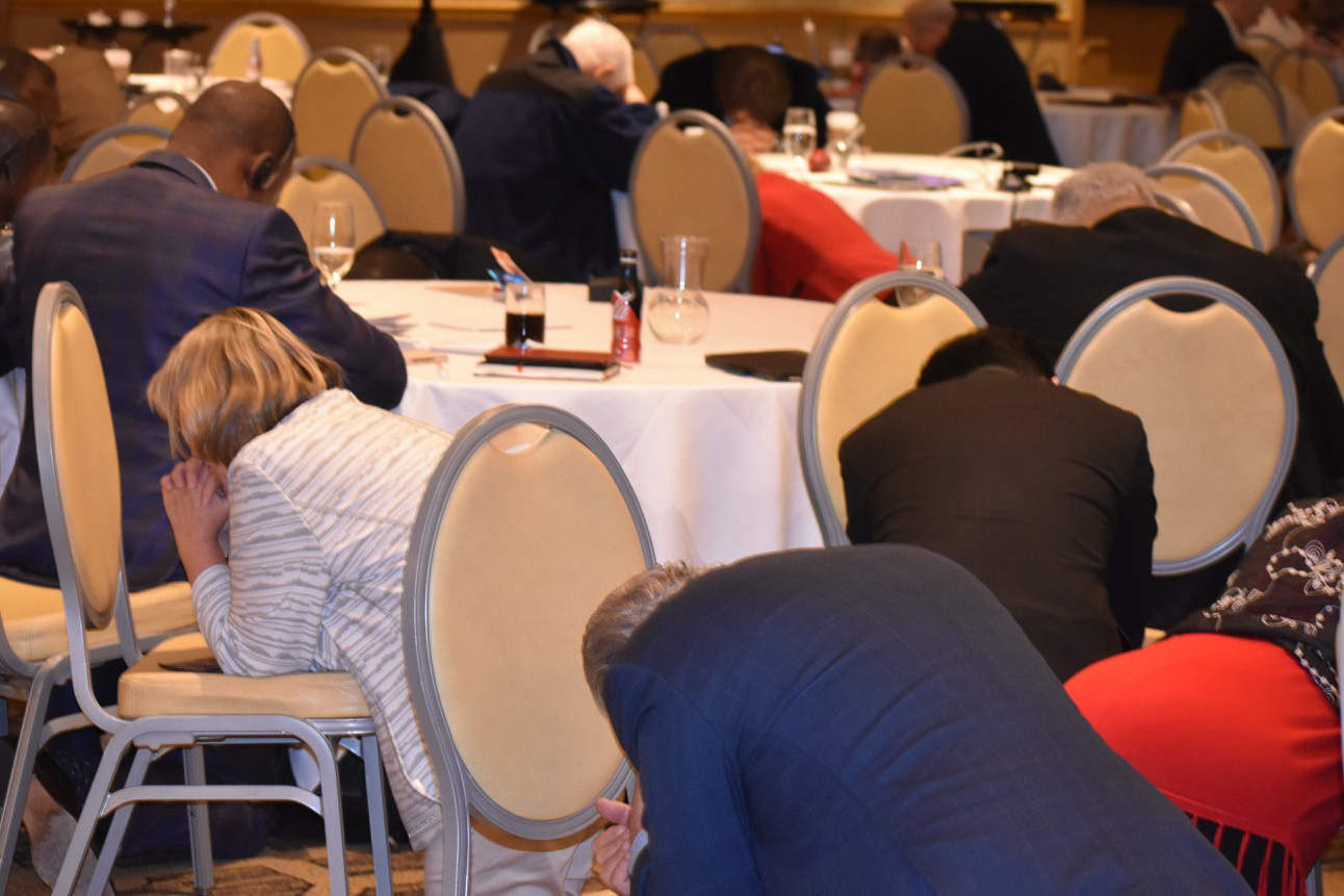 Prayer has been integral to the work of the Commission and the Council of Bishops.