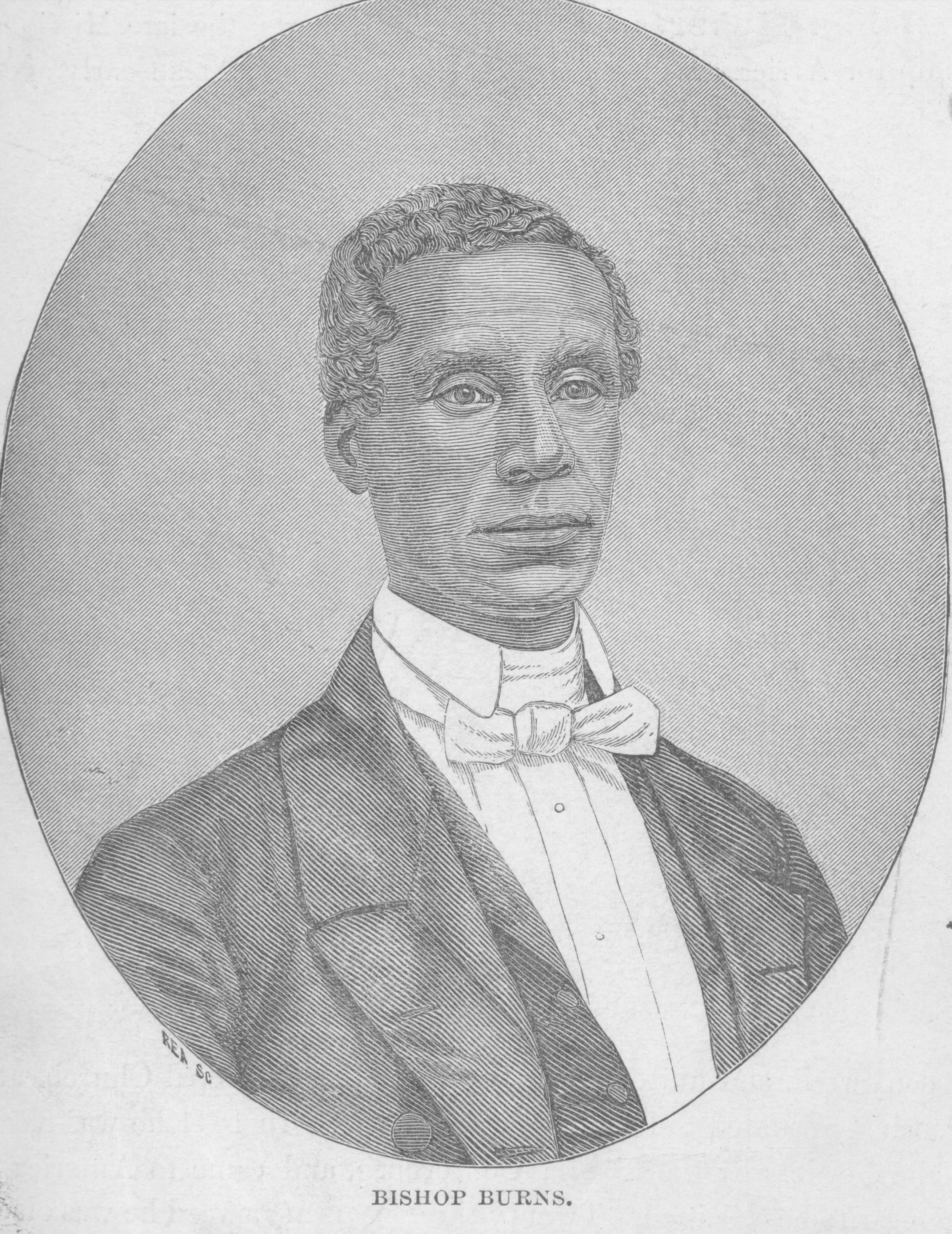 Francis Burns. Courtesy of the United Methodist Commission on Archives and History.