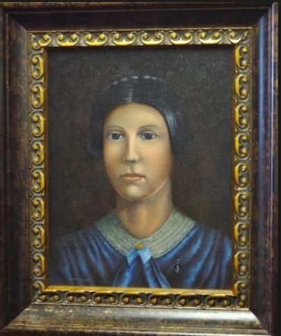 Portrait of Helenor Davisson, courtesy GCAH