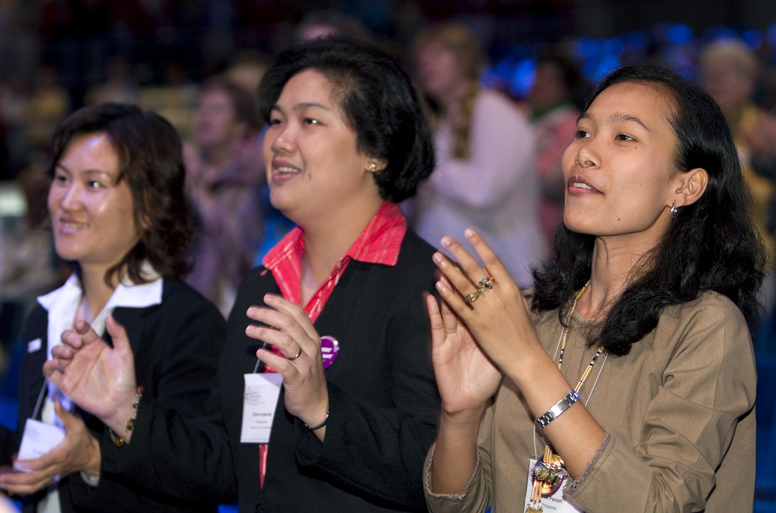 Women participate at UMW Assembly 2010. Courtesy UMW.