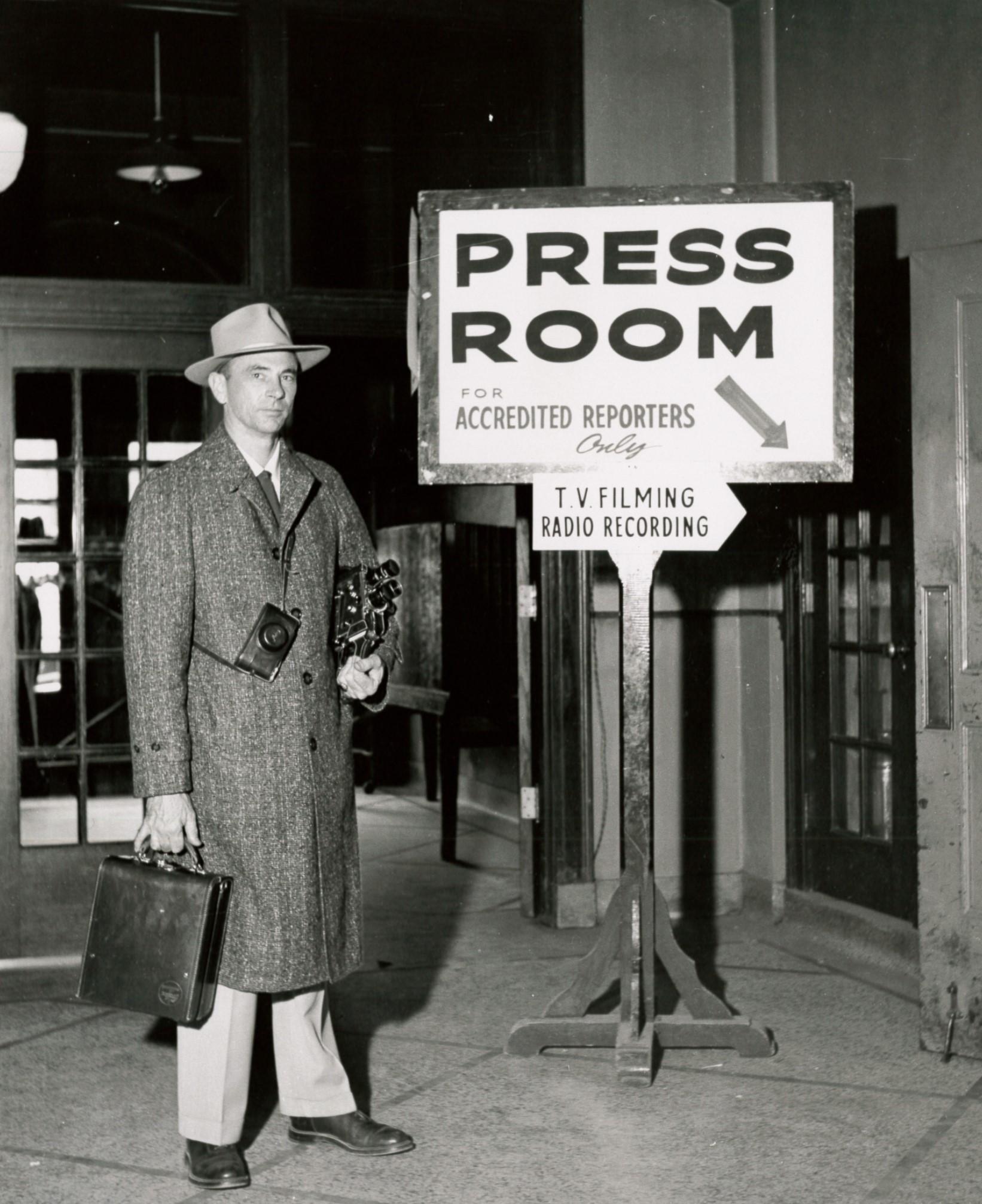 1950s Press Room