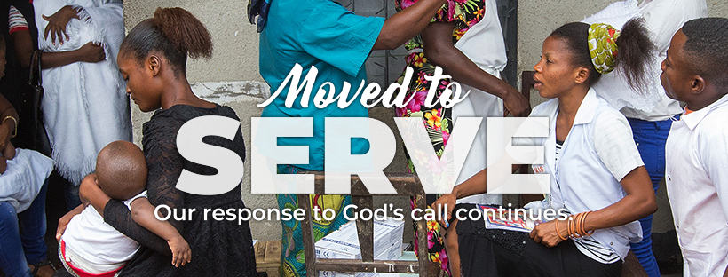 The Movement Continues campaign reminds us that the foundation of The United Methodist Church has always been to follow God's call of making disciples of Jesus Christ for the transformation of the world. One way we do this is through service. Image courtesy of United Methodist Communications.