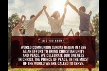 World Communion Sunday Pastor and Leader's Kit
