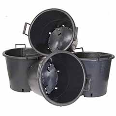 Pack of 4 Heavy Duty 30 Litre Pots