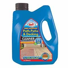 Doff Super Concentrate path, Decking & Patio Cleaner 2.5L
