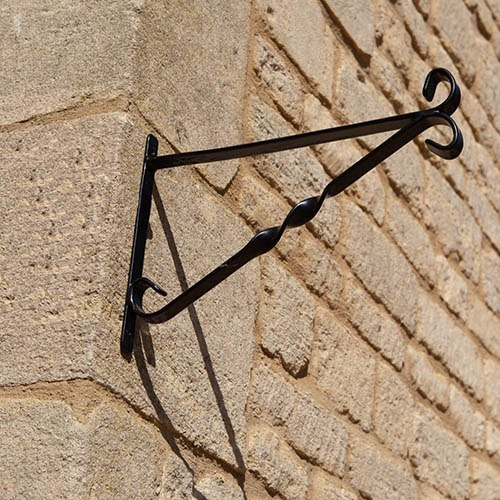 "Pair of 12"" Brackets for Hanging Baskets"
