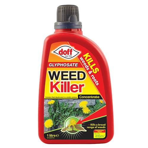 Glyphosate Weedkiller Concentrate 1L