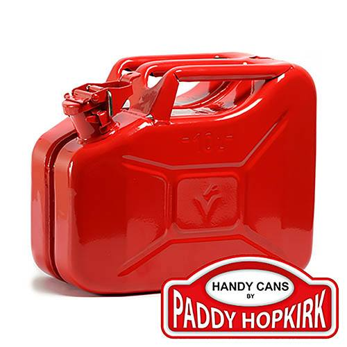 Image of 10 ltr Steel Jerry Can - Red