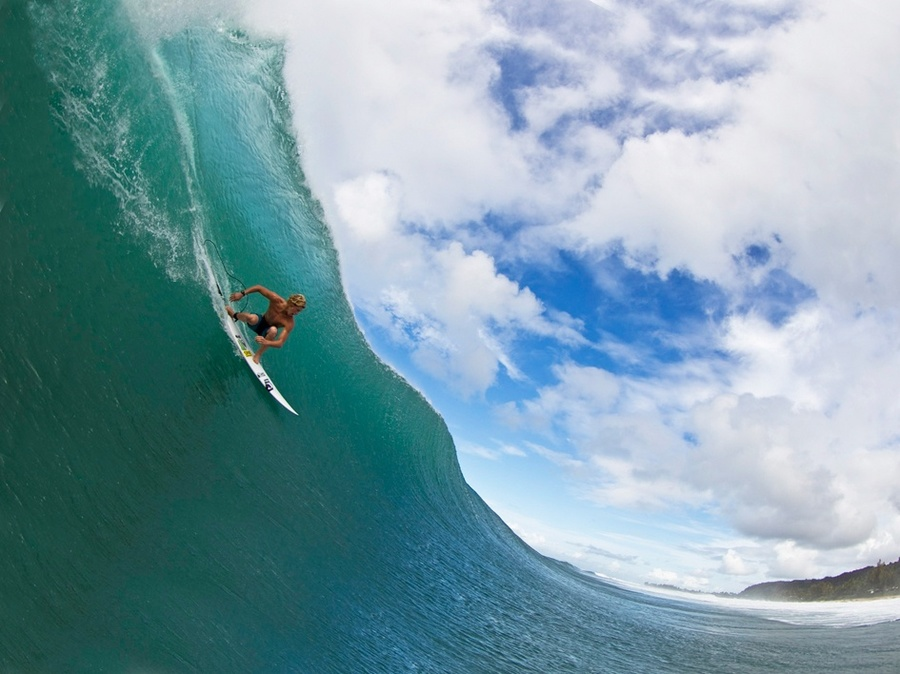 Zak Noyle coming down the line  photo credit: John Florence