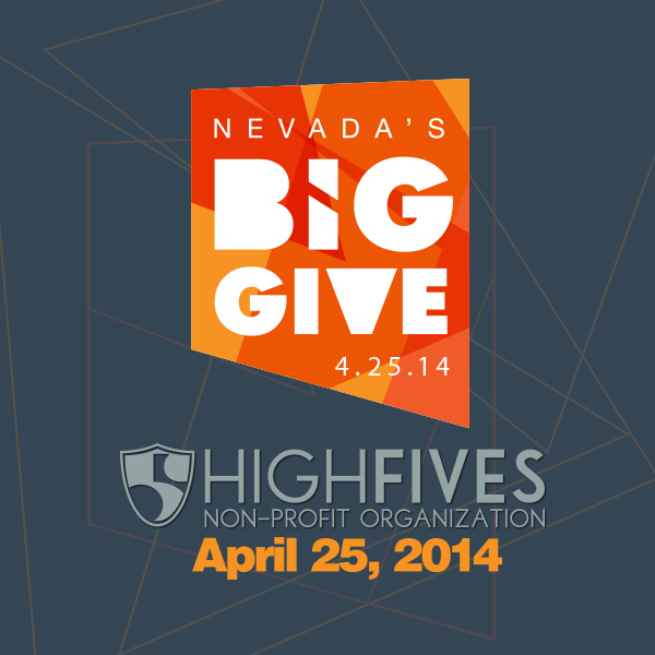 #GiveWhereYouLive this Friday (April 25) and support the High Fives Foundation through Nevada's Big Give!  Its as easy as Point.Click.Give.