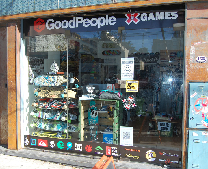 Genial el local GoodPeople de Palermo!