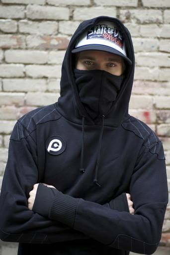 We'd like to introduce Push Culture to the GoodPeople community. They are a skateboard brand with some fresh products including this hoodie that is much more than meets the eye with its reinforced elbows , built in face mask, and mesh underarms