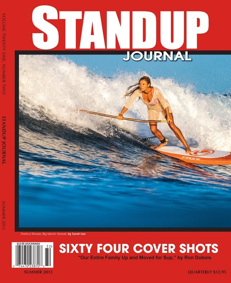 Props out to our Lovely SUP Surfer Donica Shouse for making the Cover of the StandUp Journal. This is simply the best in paddling print!! Order your copy today and visit them on Facebook! Photo by @hisarahlee #sarahleephoto