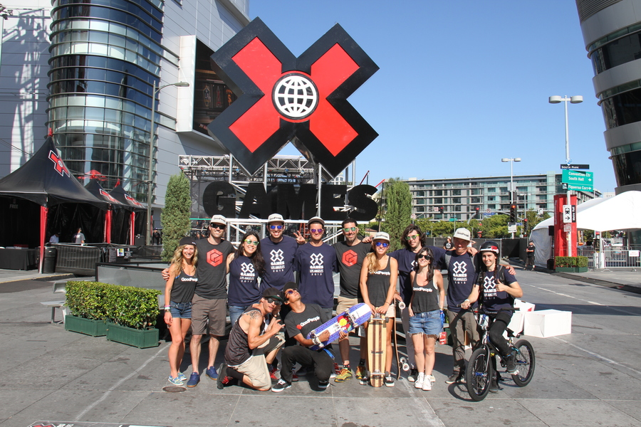 What a great crew of people we had at the X Games, thanks again everyone for all the hard work!