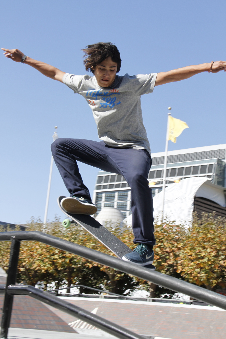 Got some shots of Sean Malto getting rad at the Dew Tour