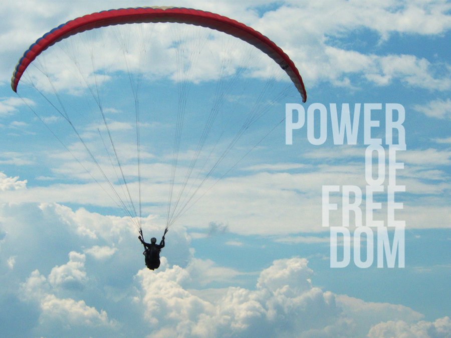 Power of freedom.