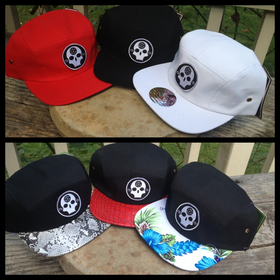New camper hats! Which are your favorite designs?